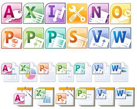 Iconos Office 2010