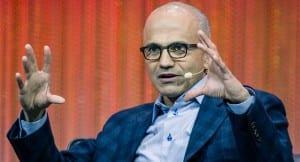 Imagen del CEO de Microsoft