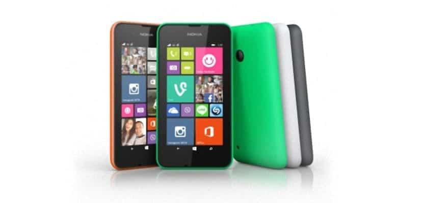 Especificaciones del Lumia 530