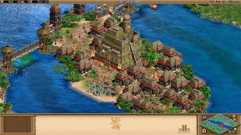 Imagen del videojuego Age of Empires de Microsoft