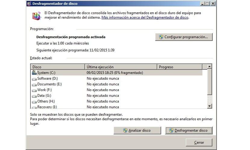 Desfragmentador SSD