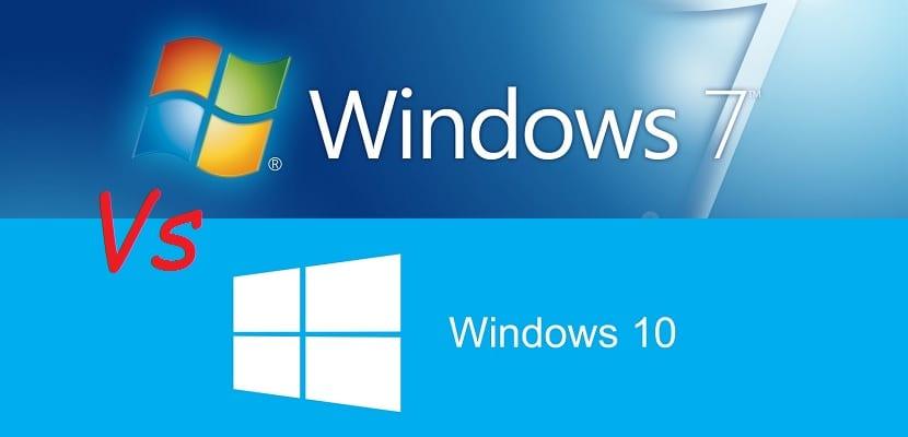 Diferencias entre Windows 7 y Windows 10
