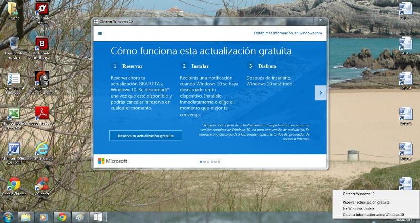 cambiar icono actualización a Windows 10