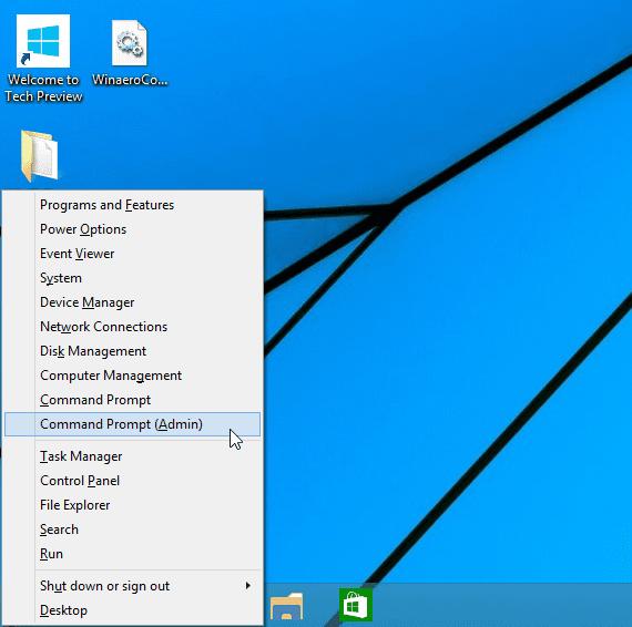 Ejecutar comandos en windows 10 desde el menú inicio