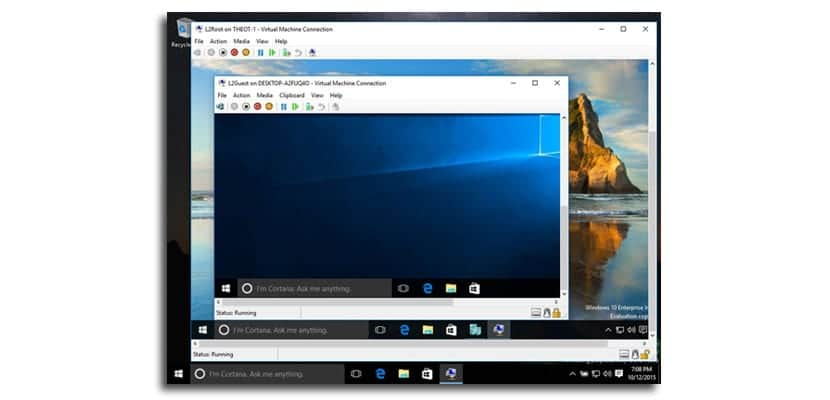 Windows 10 Máquina virtual