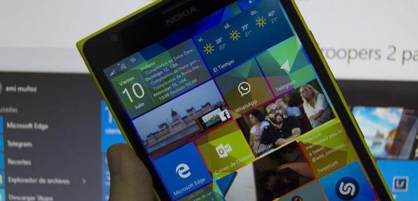 Imagen de Windows 10 Mobile