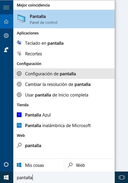 pantalla 1 Cómo ampliar el tamaño de letra en Windows 10