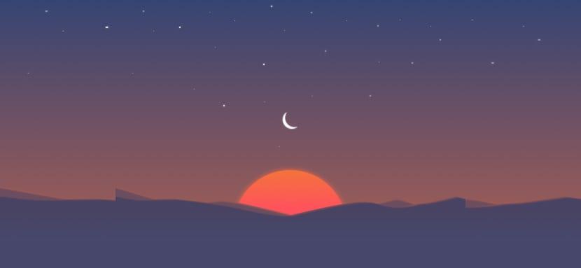 Sunrise Calendar cierre