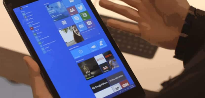 Tablet Windows 10 Mobile