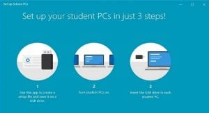 Set up Schools PCs