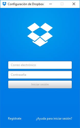 Instalación de Dropbox