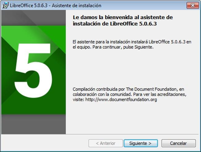 LibreOffice- Instalación
