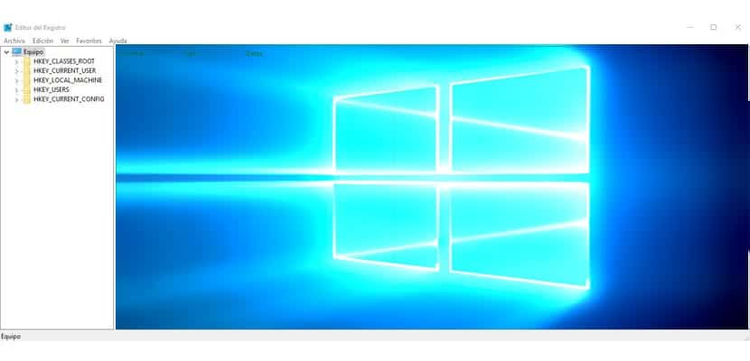 Cómo entrar al editor de registro windows 10