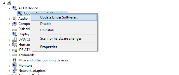 Cómo instalar los drivers MTP a Windows 10