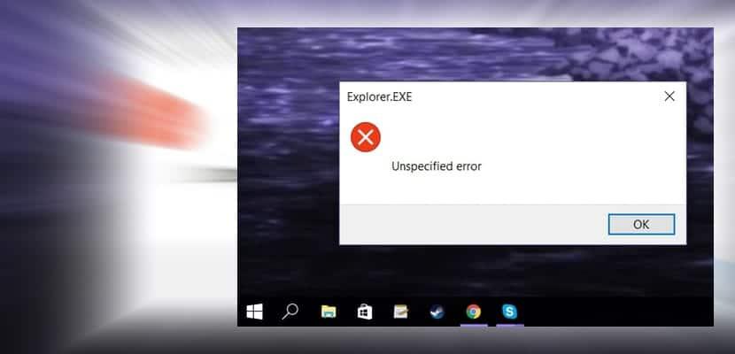 unspcified-error