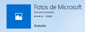 Fotos de Windows