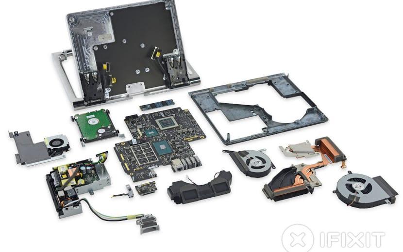 Surface Studio despiezado