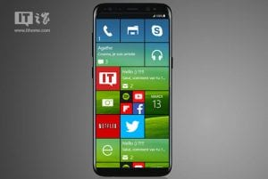 Samsung Ativ S8 con Windows 10 Mobile