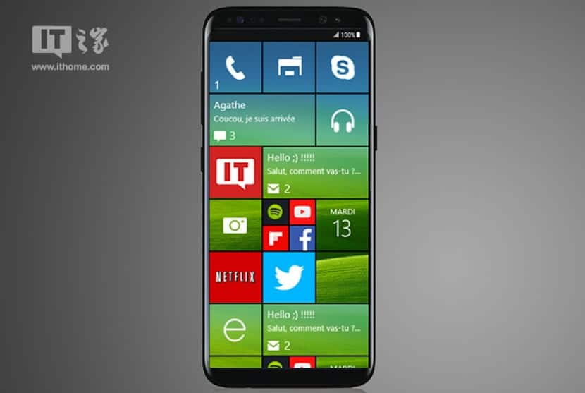 Samsung Ativ S8 con Windows 10 Mobile