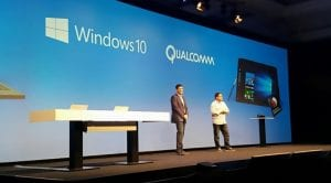 Windows 10 ARM junto a directivos de Qualcomm
