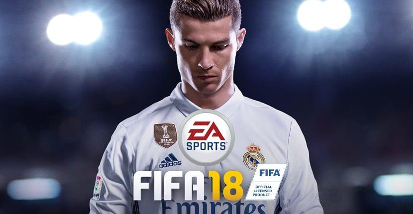 Imagen de la portada del FIFA 18