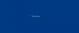 Reiniciar Windows 10