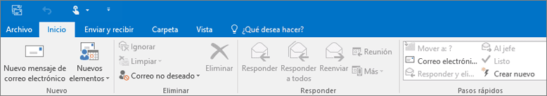 Outlook archivo