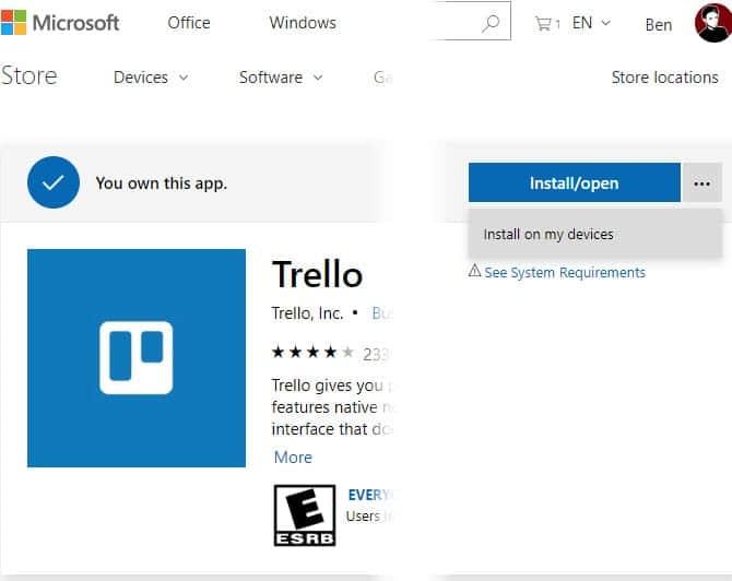 Instalar aplicaciones remotas Windows 10