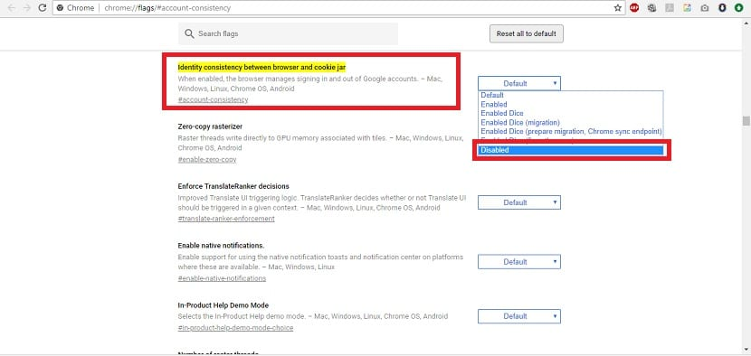 Inicio sesion automatico Google Chrome