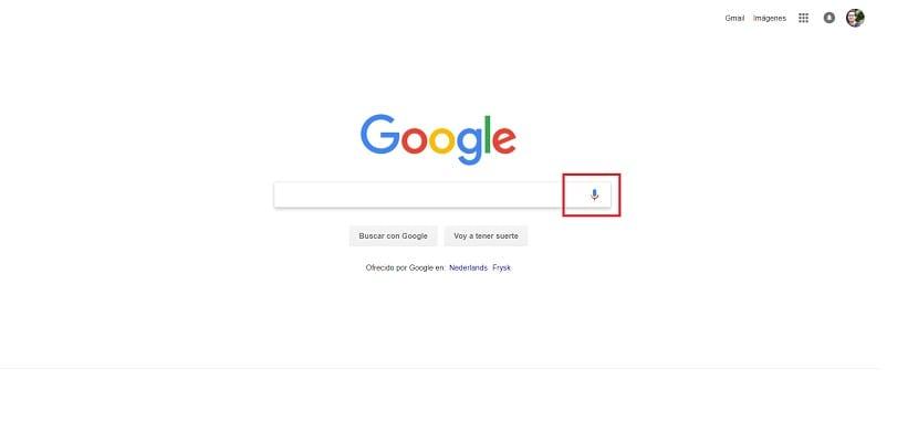 Google Chrome busquedas por voz