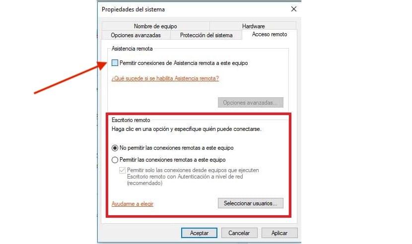 Cómo activar la Asistencia Remota en Windows 10