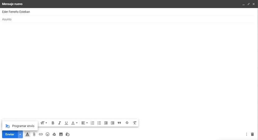 Gmail programar