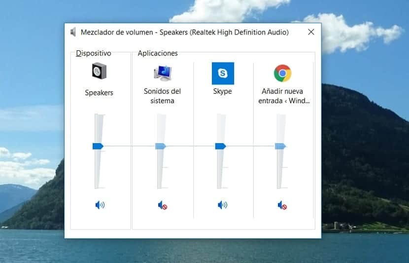 Sonido en Windows