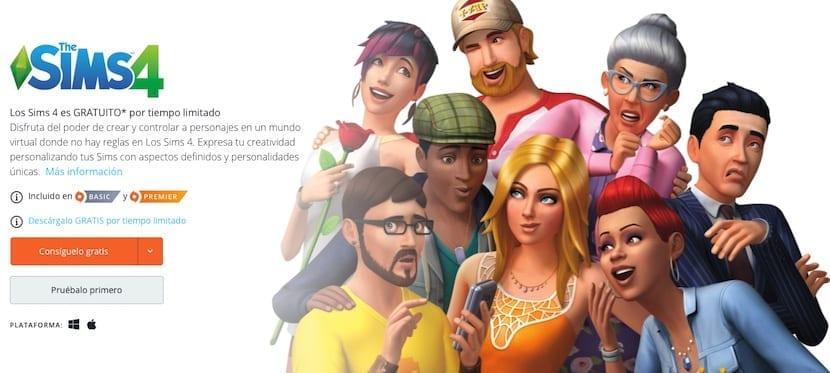 Cómo descargar Los Sims 4 gratis
