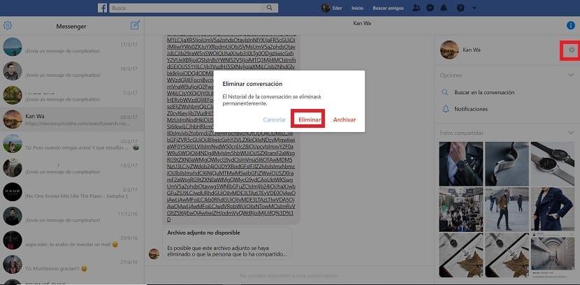 Eliminar-mensajes-Facebook