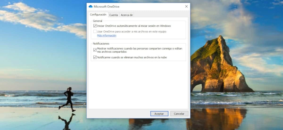 Eliminar OneDrive arranque de Windows 10