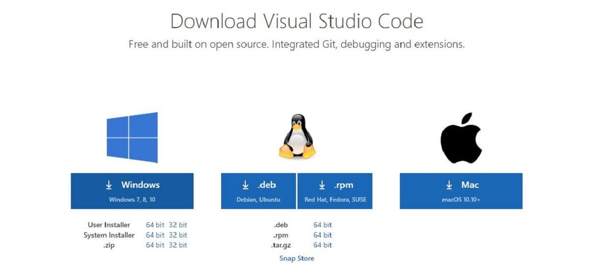 Descargar Visual Studio Code de Microsoft gratis
