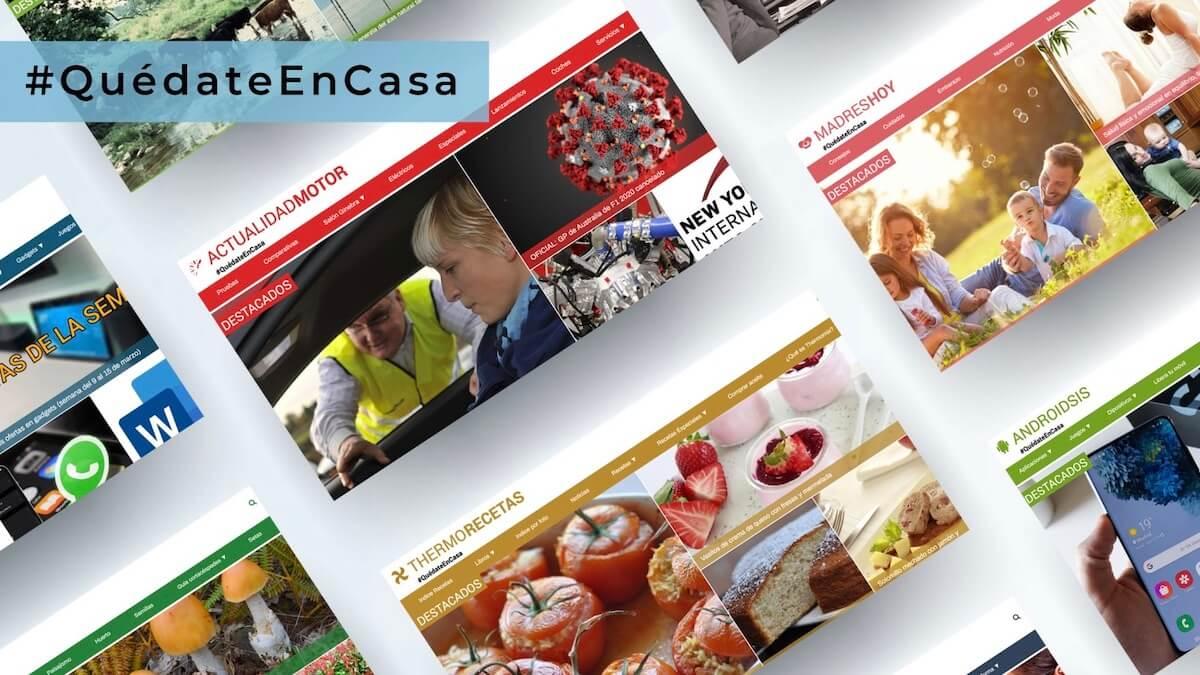 #QuédateEnCasa - Actualidad Blog