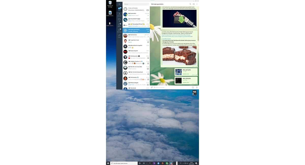 Cambiar la orientación de la pantalla en Windows 10