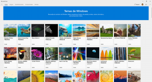 Instalar temas Windows 10