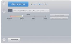 Reducir tamaño archivos audio mp3