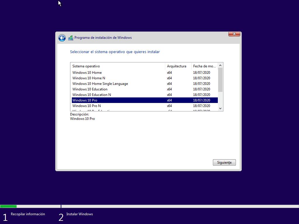 Instalación de Windows 10 Insider Preview en VirtualBox