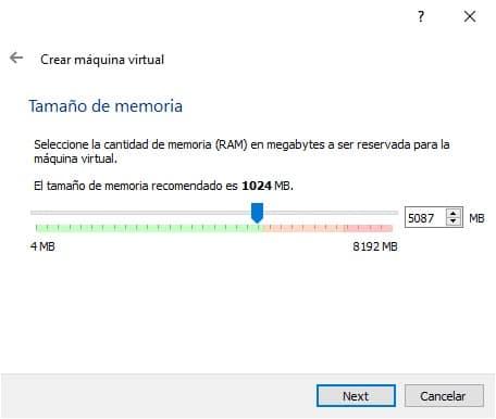 Crear máquina virtual con Ubuntu en VirtualBox