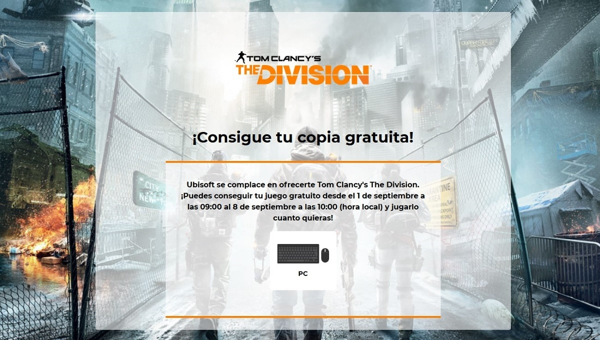 Tom Clancy's The Division gratis