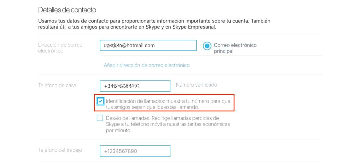 Llamar a fijos desde Skype