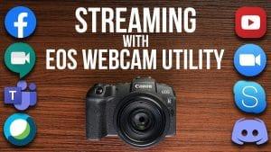 Cámara Canon como webcam