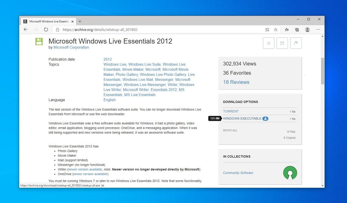 Descargar Windows Live Essentials 2012