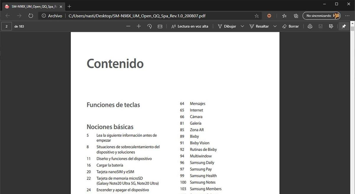 Leer archivos PDF en voz alta