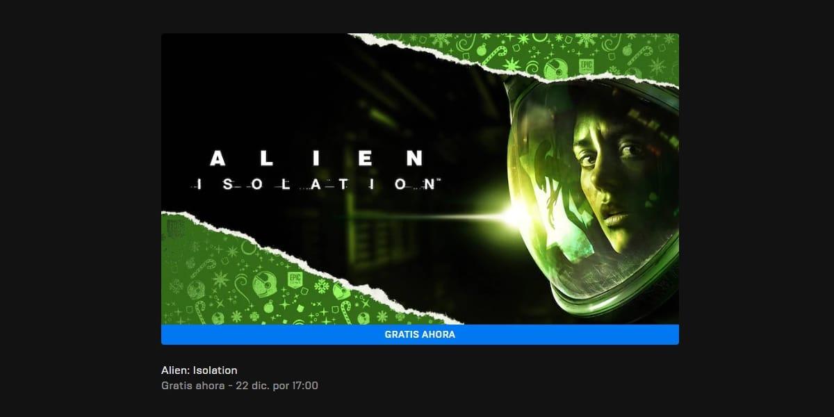 Alien Isolation gratis