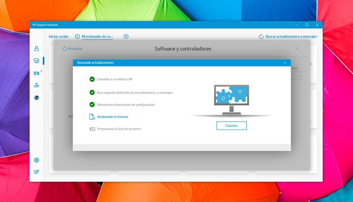 Actualizar drivers con HP Support Assistant